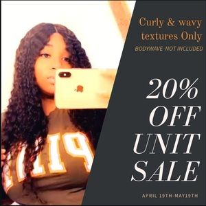 Hand Made wigs using 100% Virgin hair (Curly)